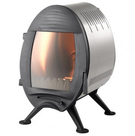 Печь камин чугунная INVICTA Oxo стальная