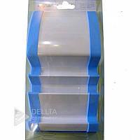 Подставка для телефона HOLDER SC6-7, пластик, бело-голубая, удобная и практичная, подставка для телефона