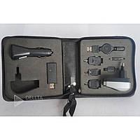 Набор зарядных переходников для Nokia (Mini USB), Samsung (Micro USB), SonyEricsson, Iphone, всегда оставаться на связи в любом уголке мира