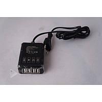 Сетевое зарядное устройство 4USB порт 5v 2.5a