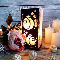 Солевая лампа «Рыбки» 2кг
