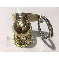 Автомобильный держатель для телефона Gold 2861 магнит с кольцом, металл, автомобильный держатель, автодержатели