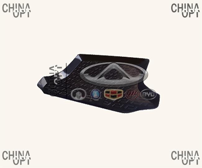 Коврик багажника, резино-пластик, Chery Tiggo [1.8, до 2012г.], RCPT11, MEGA LOCKER