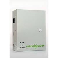 Блок бесперебойного питания Green Vision GV-UPS-H 1209-5A-B, 60Гц, 9 выходов, C14, Источник бесперебойного питания Green Vision GV-UPS-H 1209-5A-B
