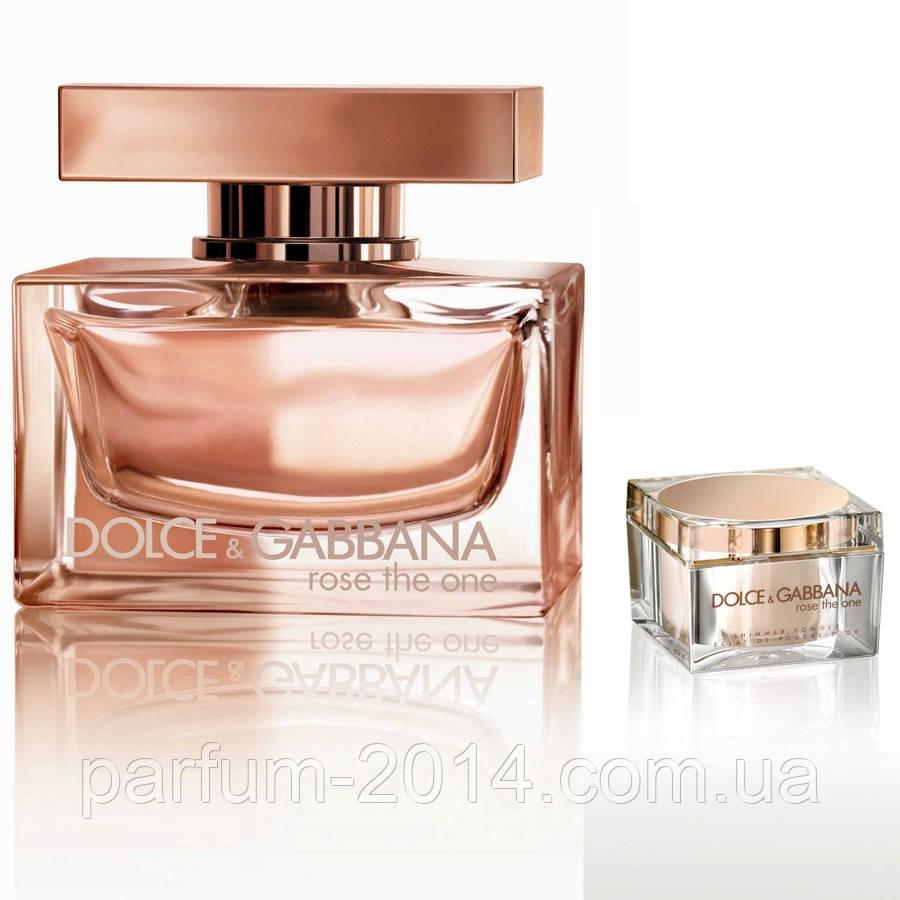 Женская туалетная вода Dolce & Gabbana Rose The One (реплика)