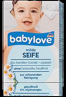 Babylove мягкое кусковое мыло milde Seife 100g