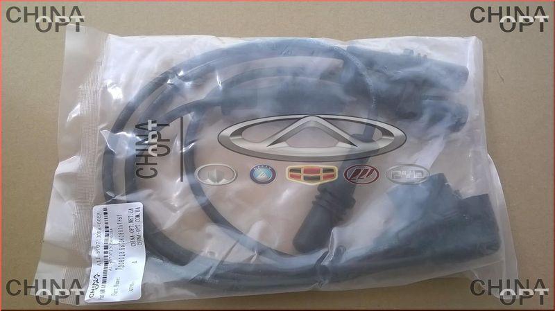 Провода высоковольтные, комплект, 480EF, Chery Amulet [1.6,до 2010г.], A11-3707130EA-60EA, Aftermarket