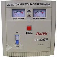 Стабилизатор напольный Haifa HF-8000 релейный, analog 8 кВт,  входное напряжение 100 - 260В, 50А, 1 фаза, Релейный стабилизатор
