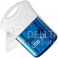Миниатюрный USB-накопитель Flash Apacer AH157 синий, 4Gb, usb 3.0 и 2.0, USB Flash, Флешки, Флеш-память usb