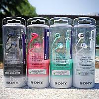 Наушники вакуумные с микрофоном Sony Ex -150AP проводные, 1.2m, 103 дБ, 3.5 мм mini jack, разные цвета