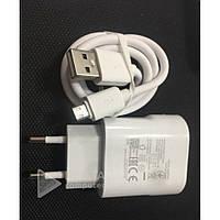 Зарядное устройство для мобильных телефонов Quik Charger Soloffer 1009 V8 cable, 3.0, 2А, белый