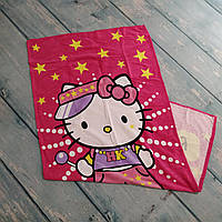 Пляжное детское полотенце Hello Kitty