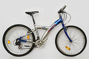 Велосипед Prince Alu 26 Silver-Blue Б/У, фото 2