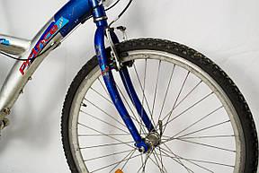 Велосипед Prince Alu 26 Silver-Blue Б/У, фото 3