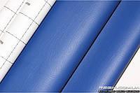 Кожзам самоклеющийся Decoin (Корея), синий 140x10 см
