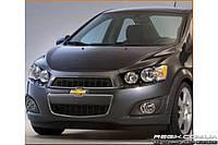Защитные велюровые накладки на карты дверей для Chevrolet Aveo New