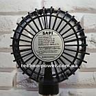 Портативный мини-вентилятор Handy Fan S8 Black. Ручной вентилятор с аккумулятором S8 Черный, фото 6