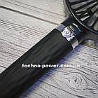 Портативный мини-вентилятор Handy Fan S8 Black. Ручной вентилятор с аккумулятором S8 Черный, фото 8