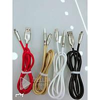 Micro Usb для зарядки портативной техники V8 тканевыес плетеными проводами, разные цвета, зарядное устройство
