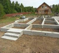 Який побудувати фундамент для будинку з газобетону