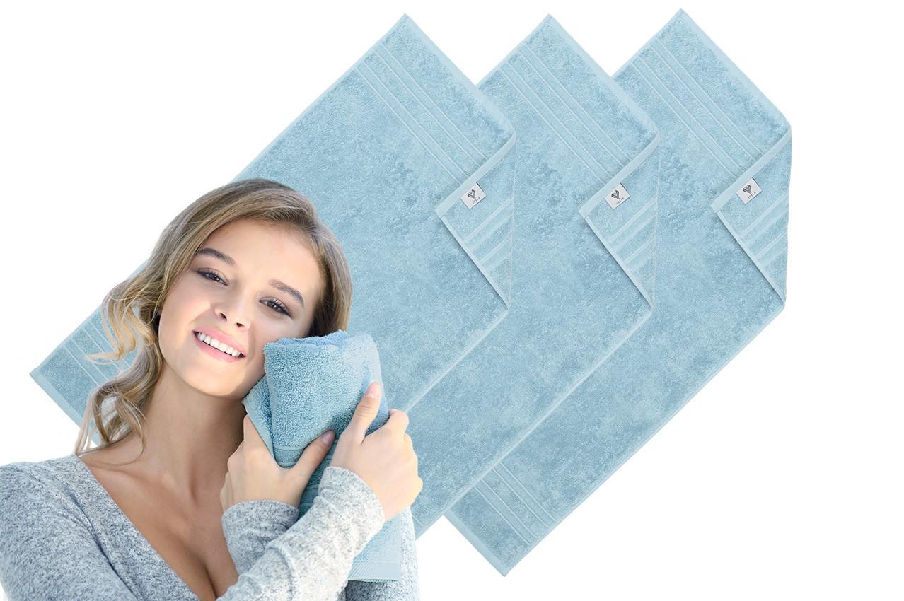 Махровое полотенце Aqua Fiber Premium 50*90 ментол