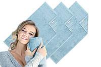 Махровое полотенце Aqua Fiber Premium 50*90 ментол, фото 1