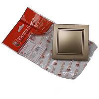 ElectroHouse Выключатель золото Enzo EH-2181-LG