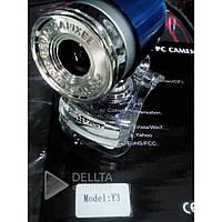Веб - камера для компьютера / ноутбука Fast Y3 USB, 1280x1024, 30кадров/ сек, 1.3 - 8Mpx, автонастройка яркости