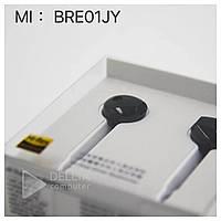 Наушники вкладыши Mi M9 проводные, черные, mini jack 3.5m, проводные, наушники затычки, наушники Mi
