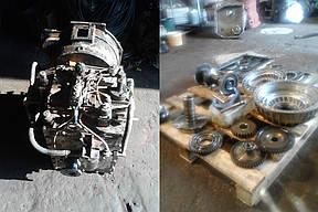 Дефектовка деталей, ремонт и замена агрегатов.