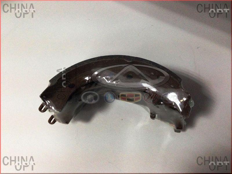 Колодки тормозные задние, барабанные, Geely MK1 [1.6, до 2010г.], 1014003351, Aftermarket