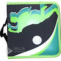 Сумка для дисков CD - holder Z - 140 на молнии, два цвета, тканевая, сумки для дисков, кейс для дисков, чехлы
