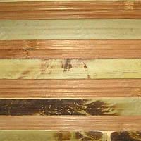 Обои бамбуковые 0.9x10 м черепаховые темные пропиленные 17 мм