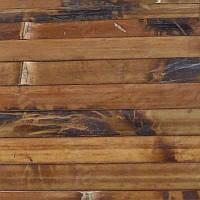 Обои бамбуковые 1.5x10 м черепаховые темные 17 мм