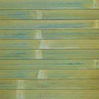 Обои бамбуковые 2x10 м зеленые 17 мм