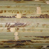 Обои бамбуковые 2x10 м черепаховые 17 мм
