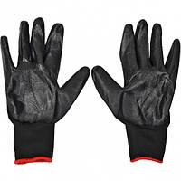 Перчатки с черным обливом 33 г