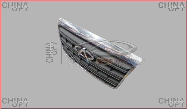 Решетка радиатора, без эмблемы, Chery Eastar [B11,2.4, AT], B11-8401050BB, Aftermarket