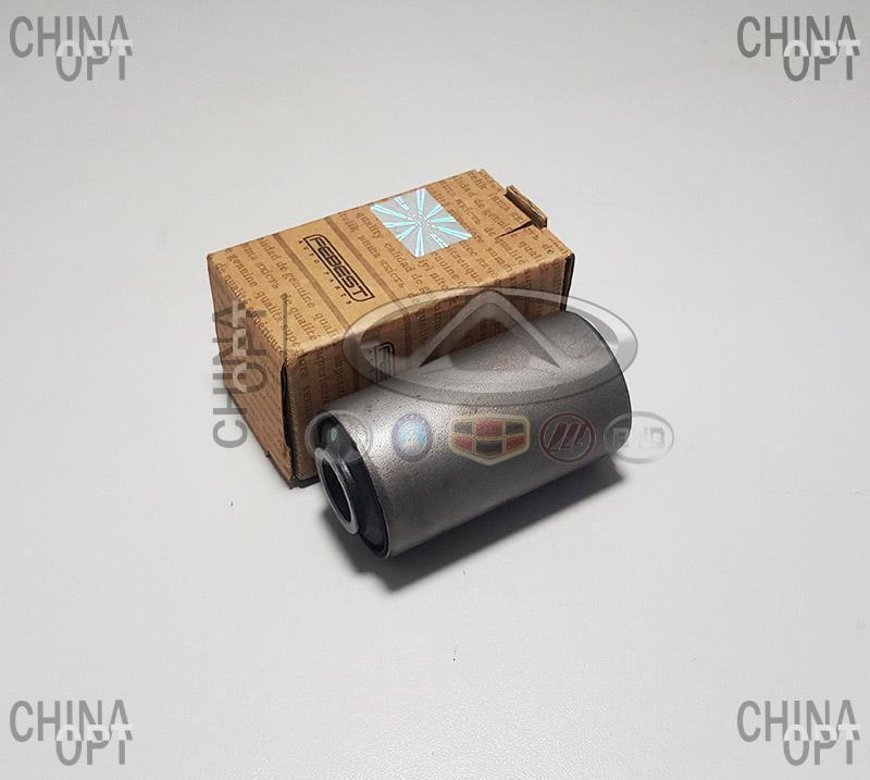 Сайлентблок нижнего переднего рычага задний, большой, Great Wall Haval [H3,2.0], 2904050-K00, Febest