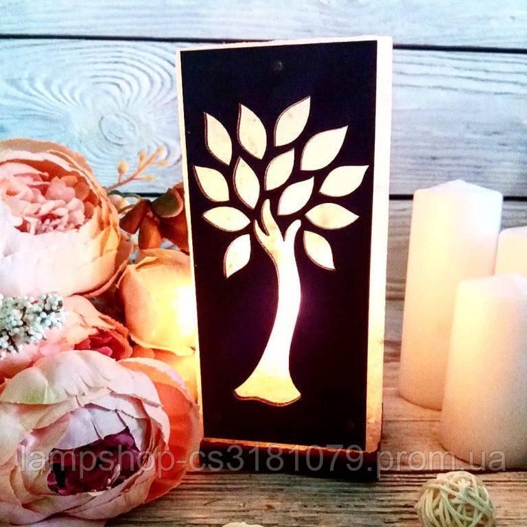 Солевая лампа «Дерево» 2кг