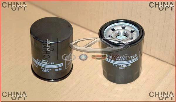 Фильтр масляный, 4G63, 4G64, 471Q, BYD F3 [1.6, до 2010г.], B11-1012010, Aftermarket