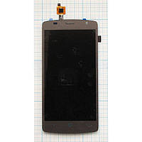 Модуль (дисплей + сенсор) ZTE Blade L5 + Touchscreen Grey