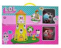 Домик башня для куколок LOL Surprise + 2 шарика PT 2018, куклы лол, кукла, игрушка