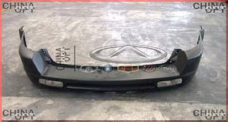 Бампер задний, пластик черный, не крашенный, Great Wall Hover [H2,2.4], 2804301-K00, Aftermarket