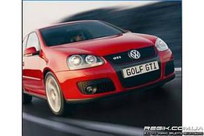 Защитные велюровые накладки на карты дверей для Volkswagen Golf 5