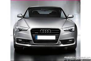 Защитные велюровые накладки на карты дверей для Audi A5 2009+