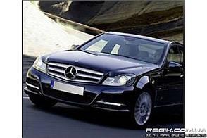 Защитные велюровые накладки на карты дверей для Mercedes-Benz  С