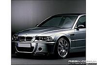 Защитные велюровые накладки на карты дверей для BMW M3 (E46)