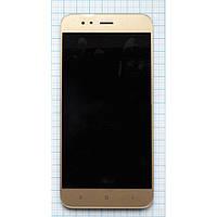 Модуль (дисплей + сенсор) Xiaomi Mi A1 / Mi 5X + Touchscreen Gold