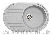 Кухонная гранитная мойка Adamant Ellipsis 770x500 мм (разные цвета)